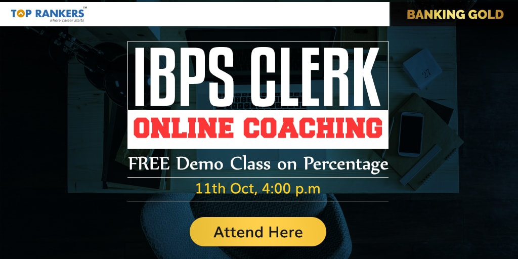 Free Demo Class on Percentage