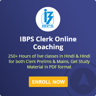 IBPS Clerk Coaching
