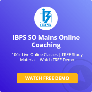 IBPS SO Online Coaching