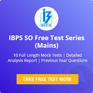IBPS SO Mock Test Series