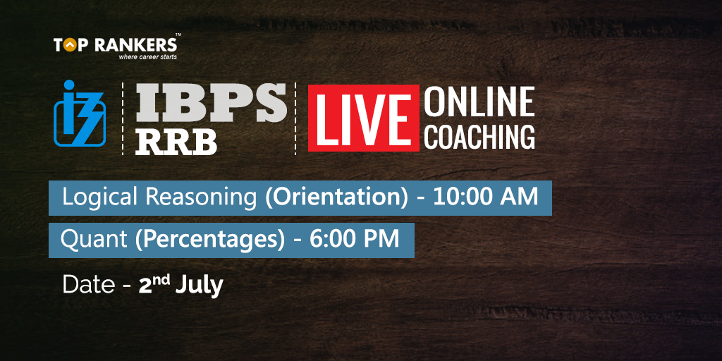 IBPS RRB - Logical Reasoning Orientation