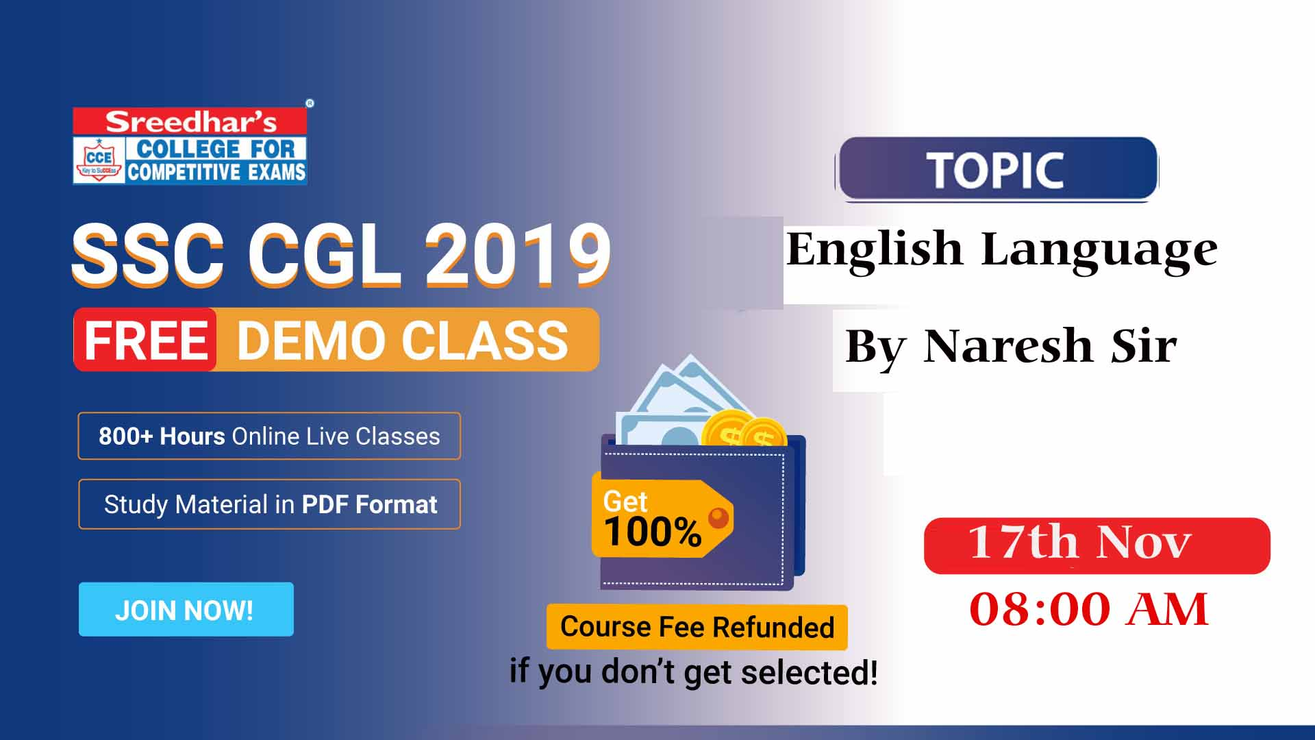 Session 01 | SSC Introduction and overall English class
