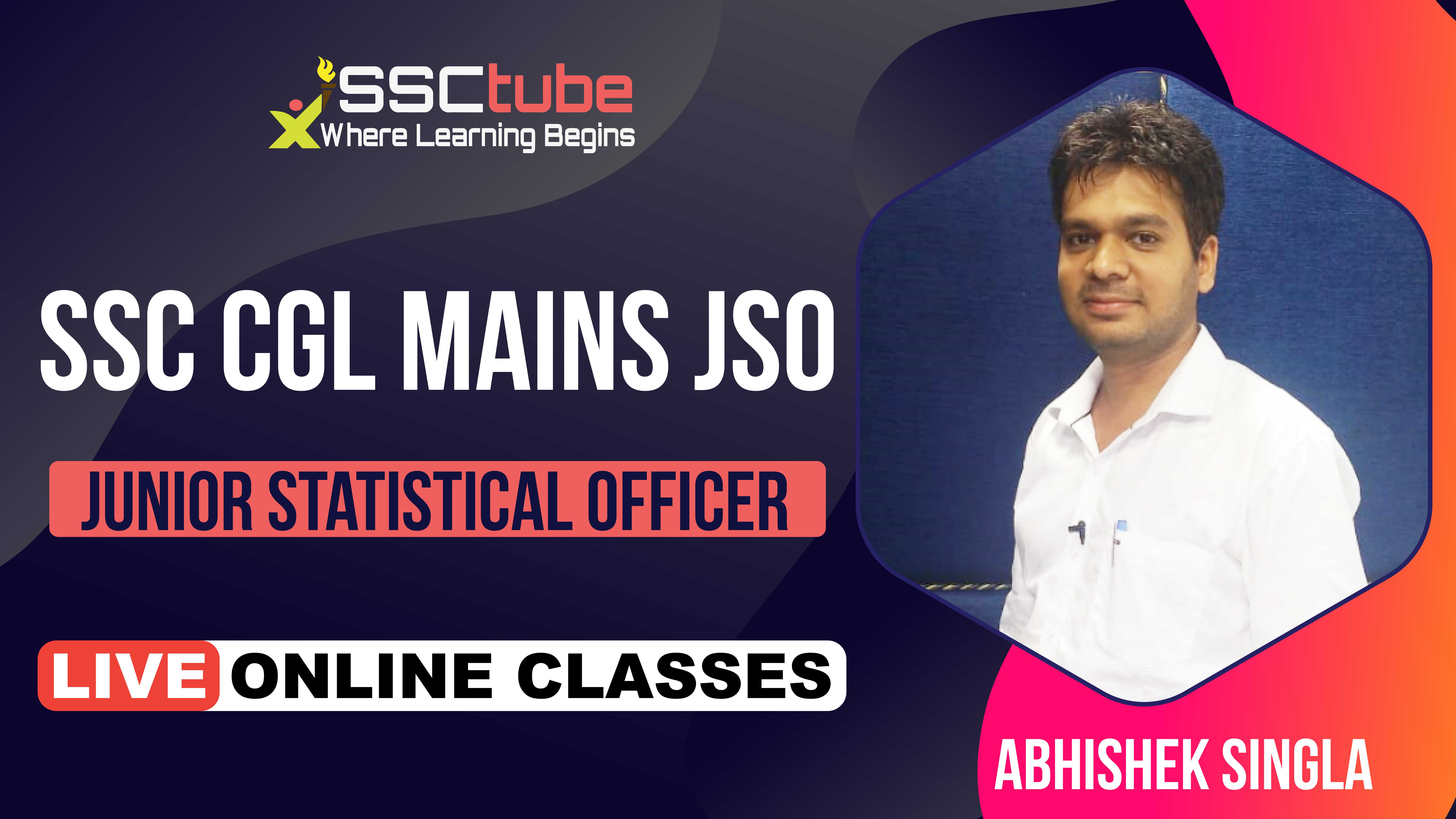 Session 8 | JSO Statistics | by Abhishek Sir