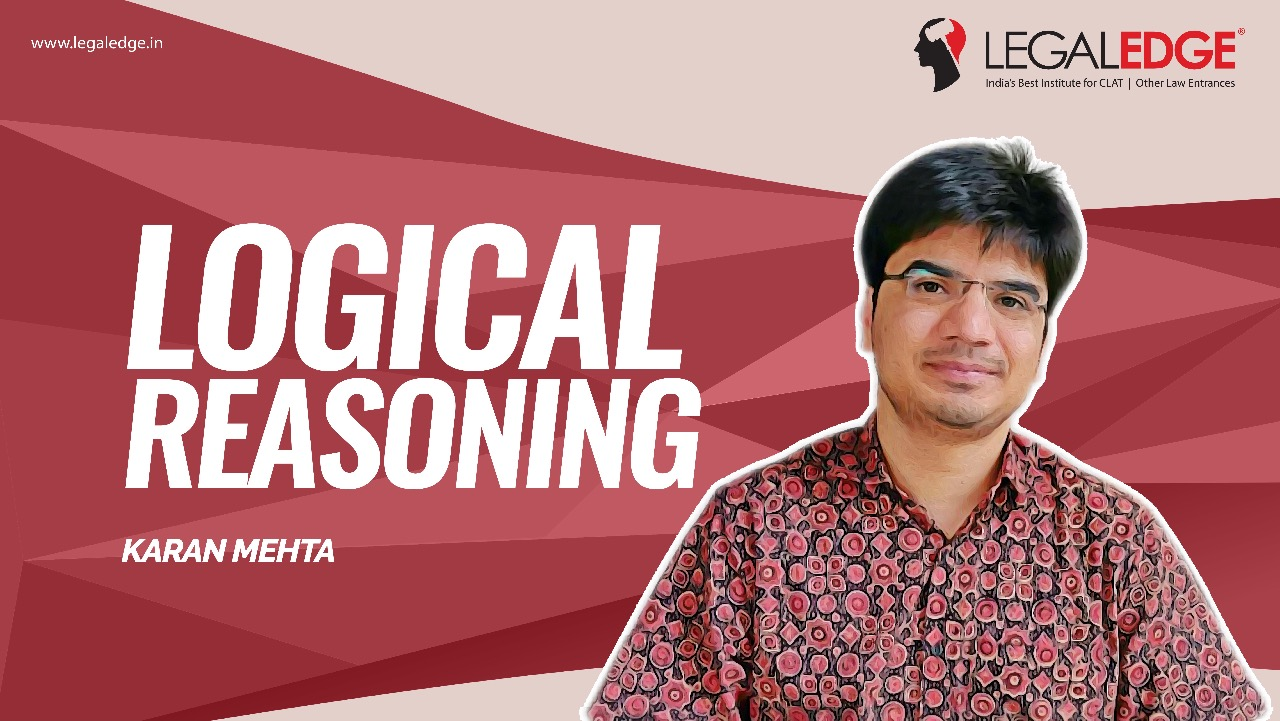 CLAT Gold | Logical Reasoning by Karan Sir
