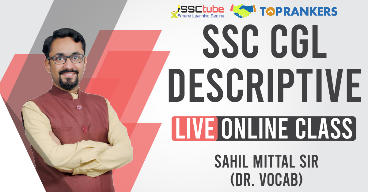 Session 10 | CGL Descriptive | Sahil Sir