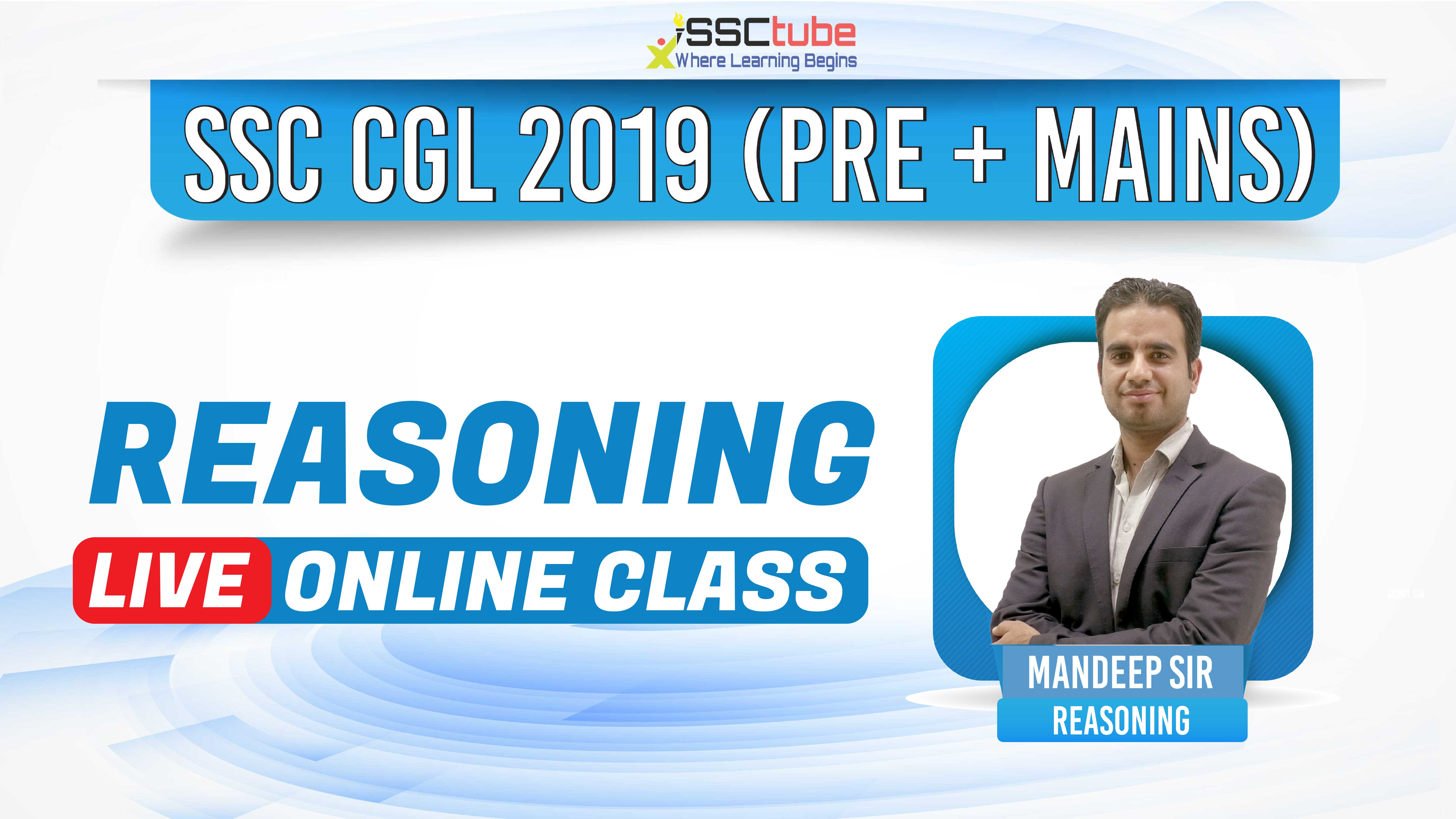 Session 8 | Reasoning | Mandeep Sir