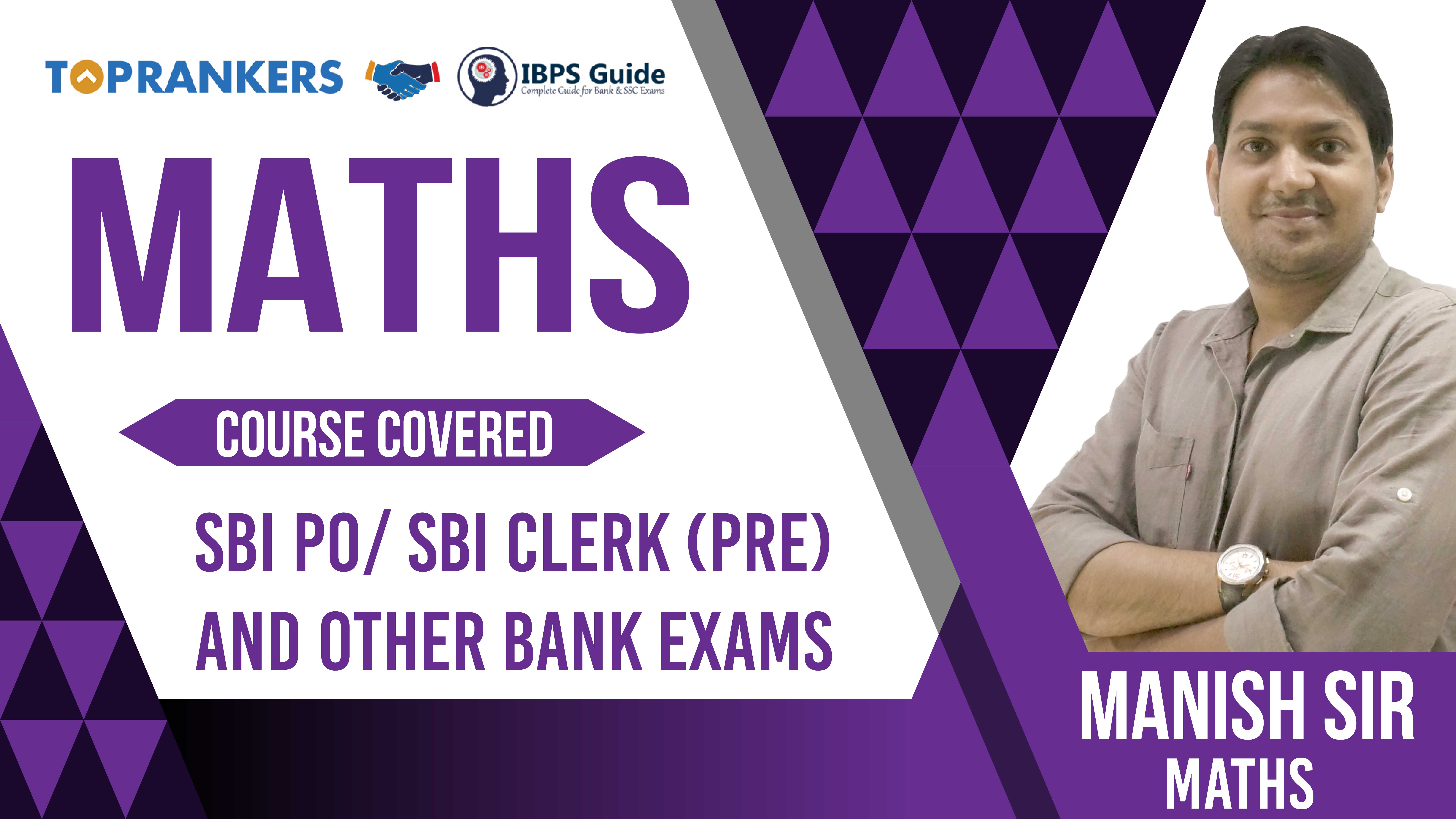 Session 6 | Maths | by Manish Sir