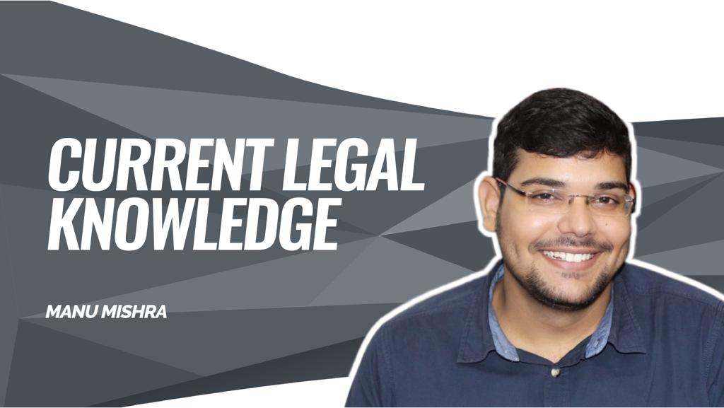 CLAT Gold | Current Legal Reasoning | Oct- 01  | By Manu Sir