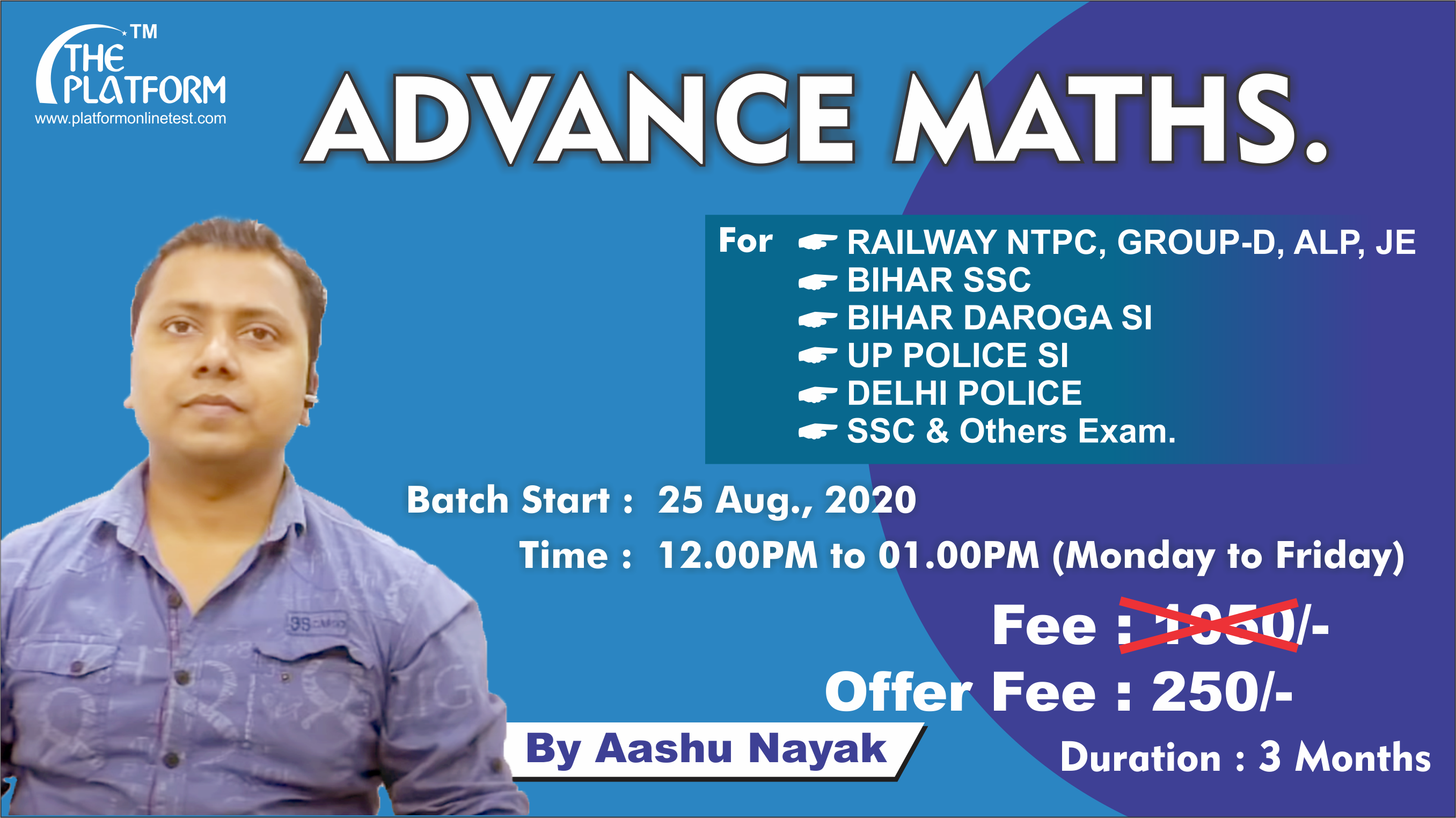25-ADVANCE MATHS. By Aashu Nayak, Session-01
