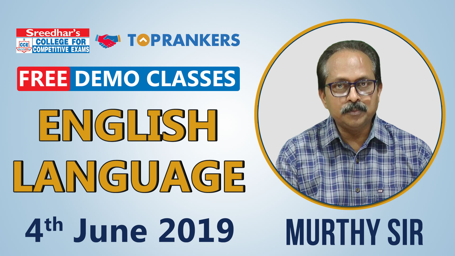 English Demo| by Murthy Sir