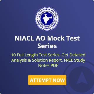 NIACL AO Mock Test