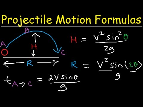Projectile Motion Lecture - 1