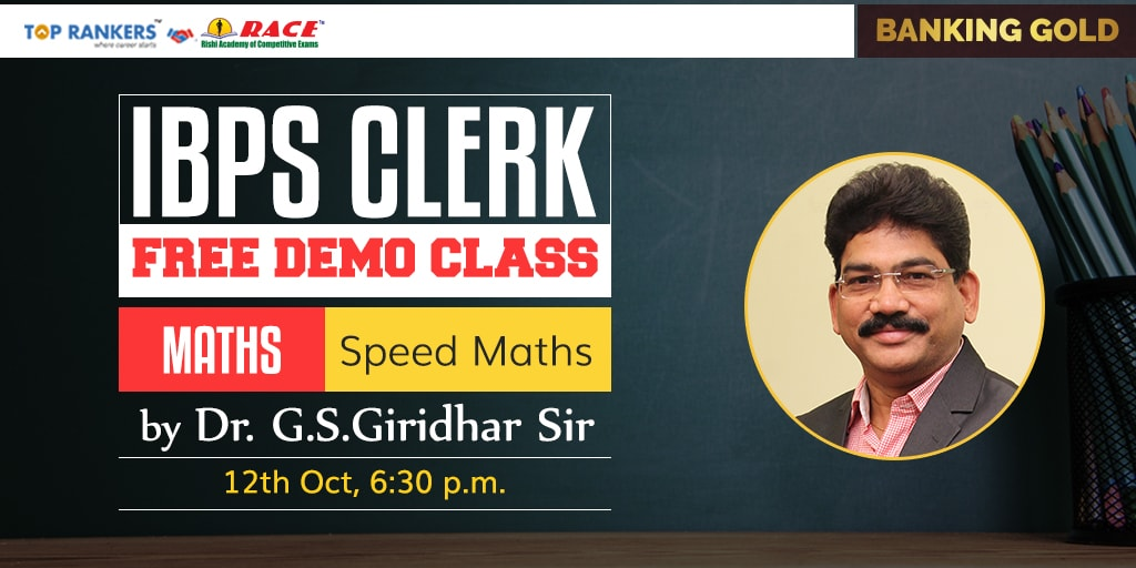 Demo Class on Speed Maths | RACE Online