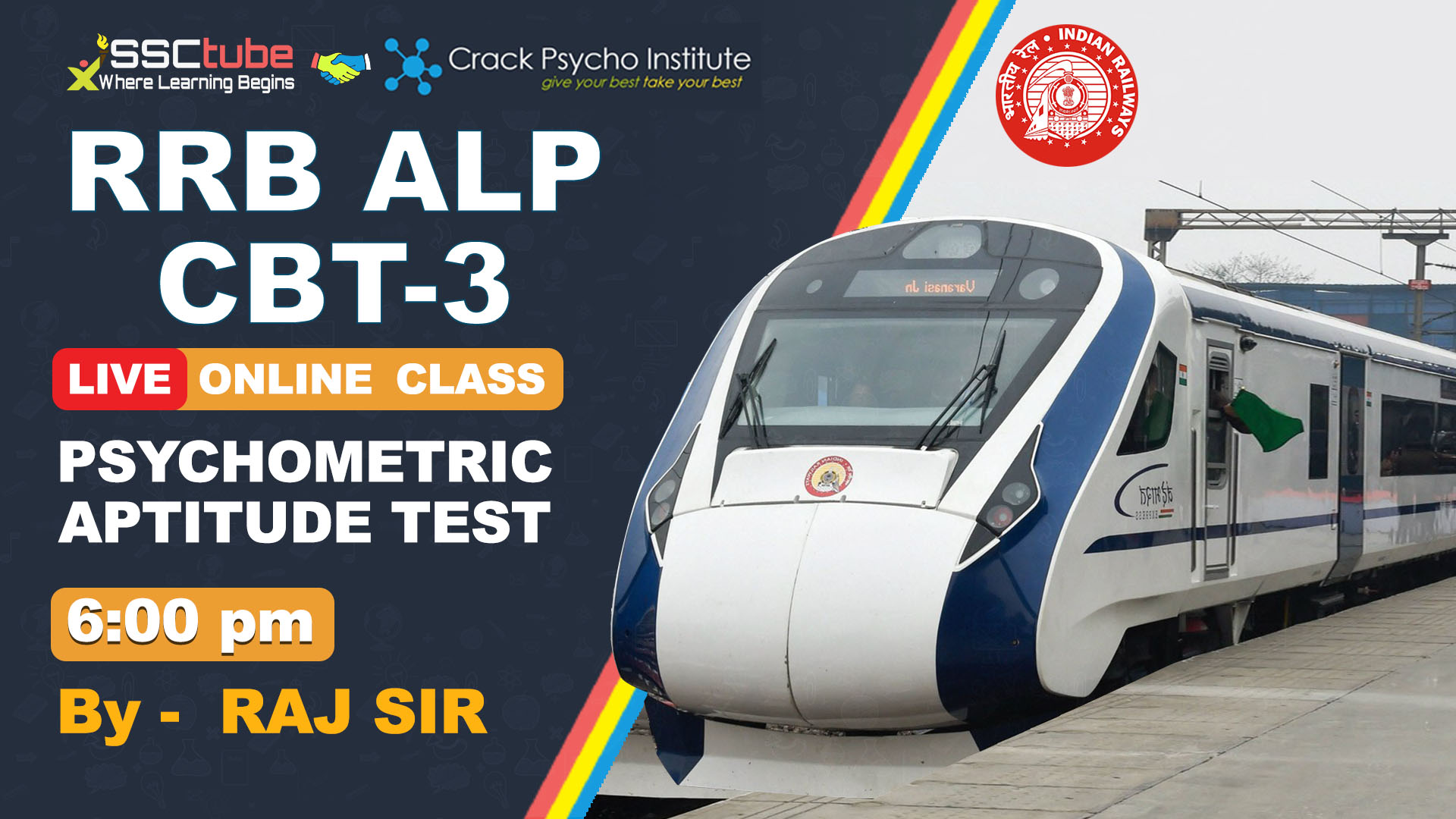 Session 10 | Psychometric Aptitude Test | By Raj Sir