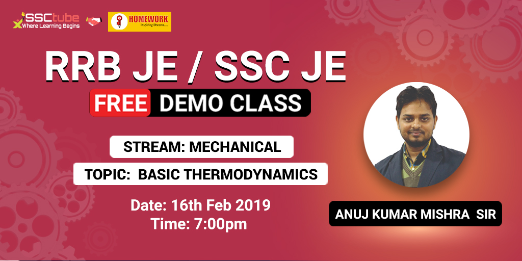Demo Session 2 | SSC JE Civil & Mechanical | By Homework