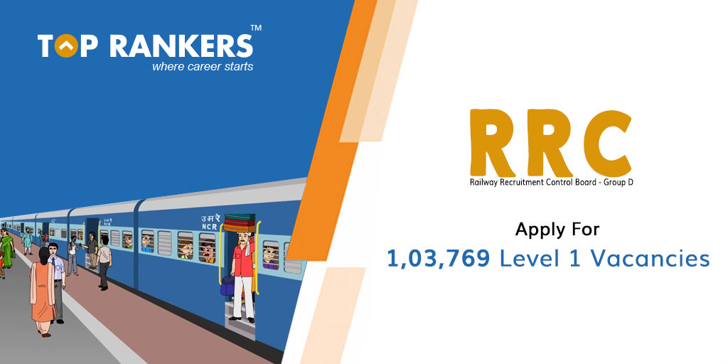 RRC Group D Recruitment 2019 Apply Here 1,03,769