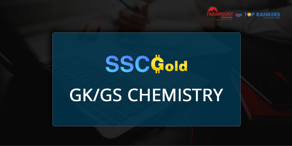 Chemistry Session 3 | SSC Gold