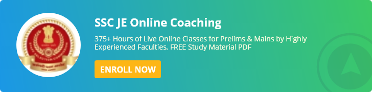 SSC JE Online Coaching