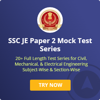 SSC JE Paper 2 Mock Test
