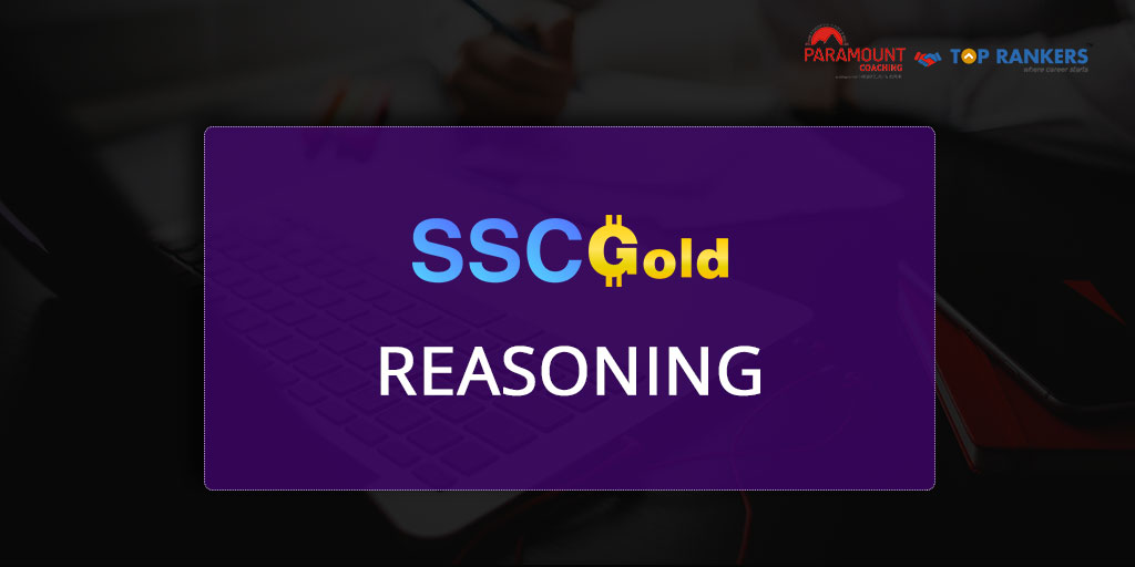 Reasoning Session 01 | SSC Gold by Pankaj Sir