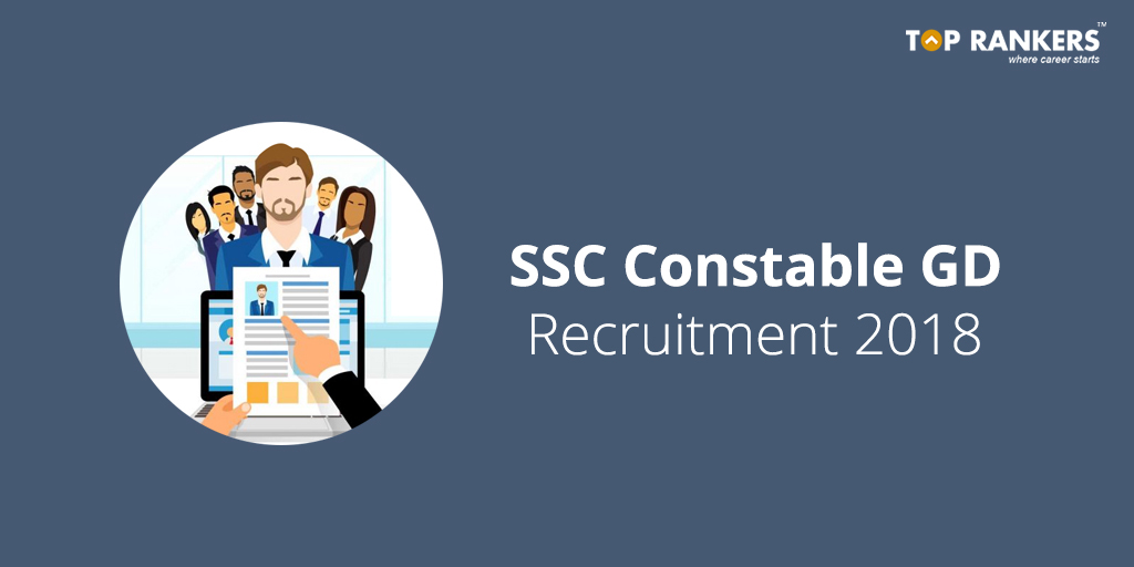 SSC GD Constable Notification 2018