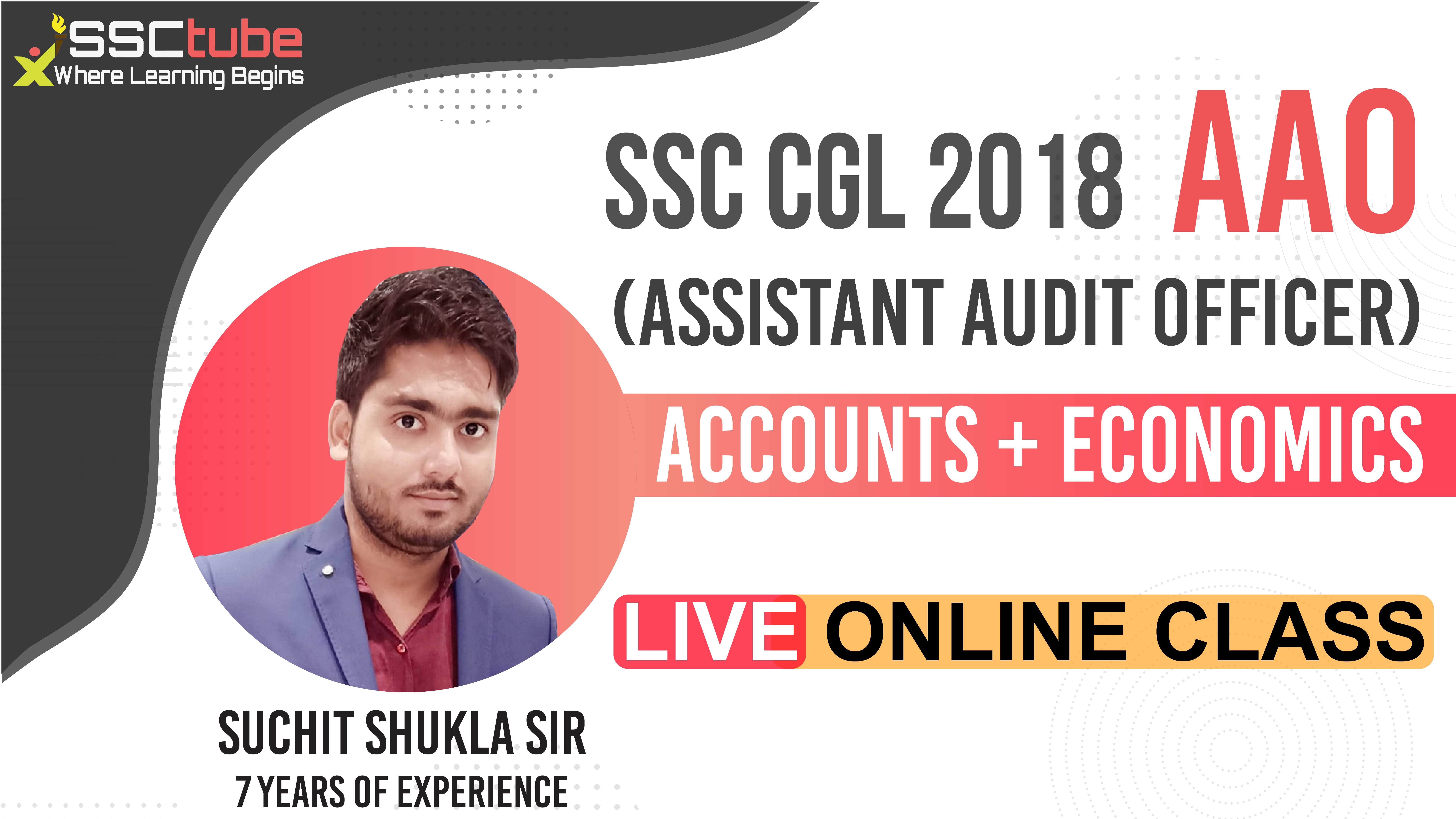 Session 27 | Economics | SSC CGL AAO