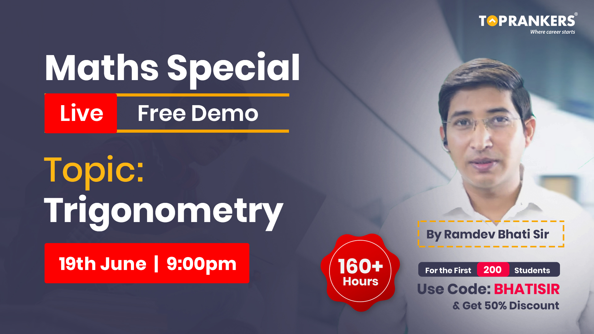 Demo Session 5 || Trigonometry || By Ramdev Bhati Sir