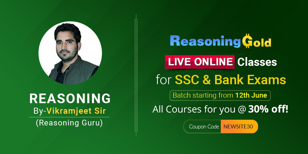 SSC Gold | Reasoning Demo Class by Vikramjeet Sir