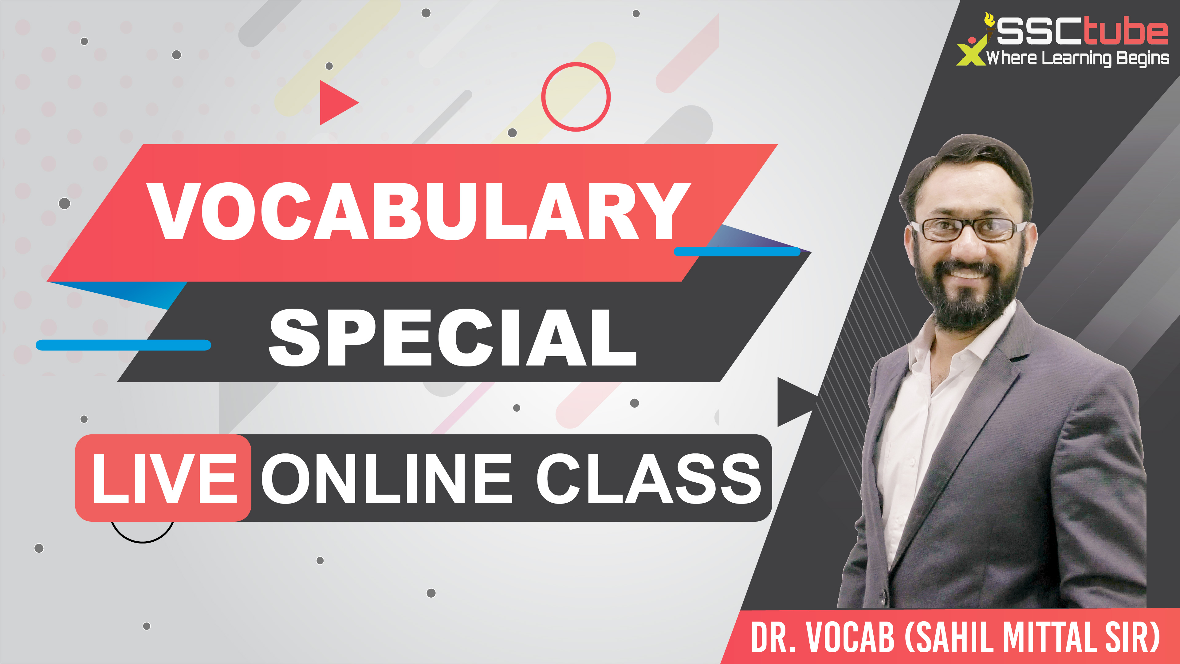 Session 26 | Vocab Special | by Sahil Mittal Sir