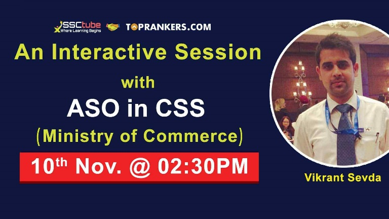 Interactive Session with ASO in CSS  Mr. Vikrant Sevda