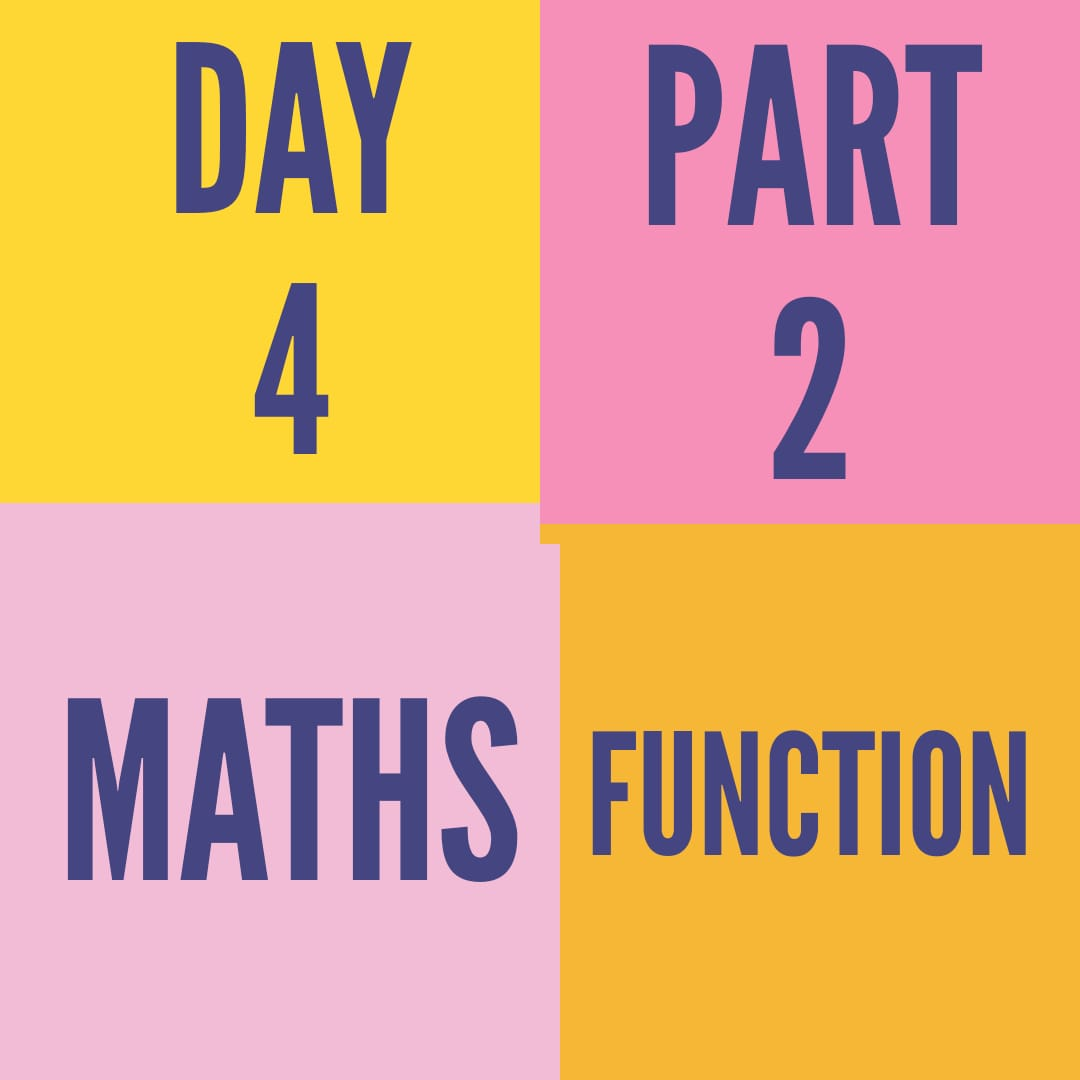 DAY-4-PART-2- FUNCTION