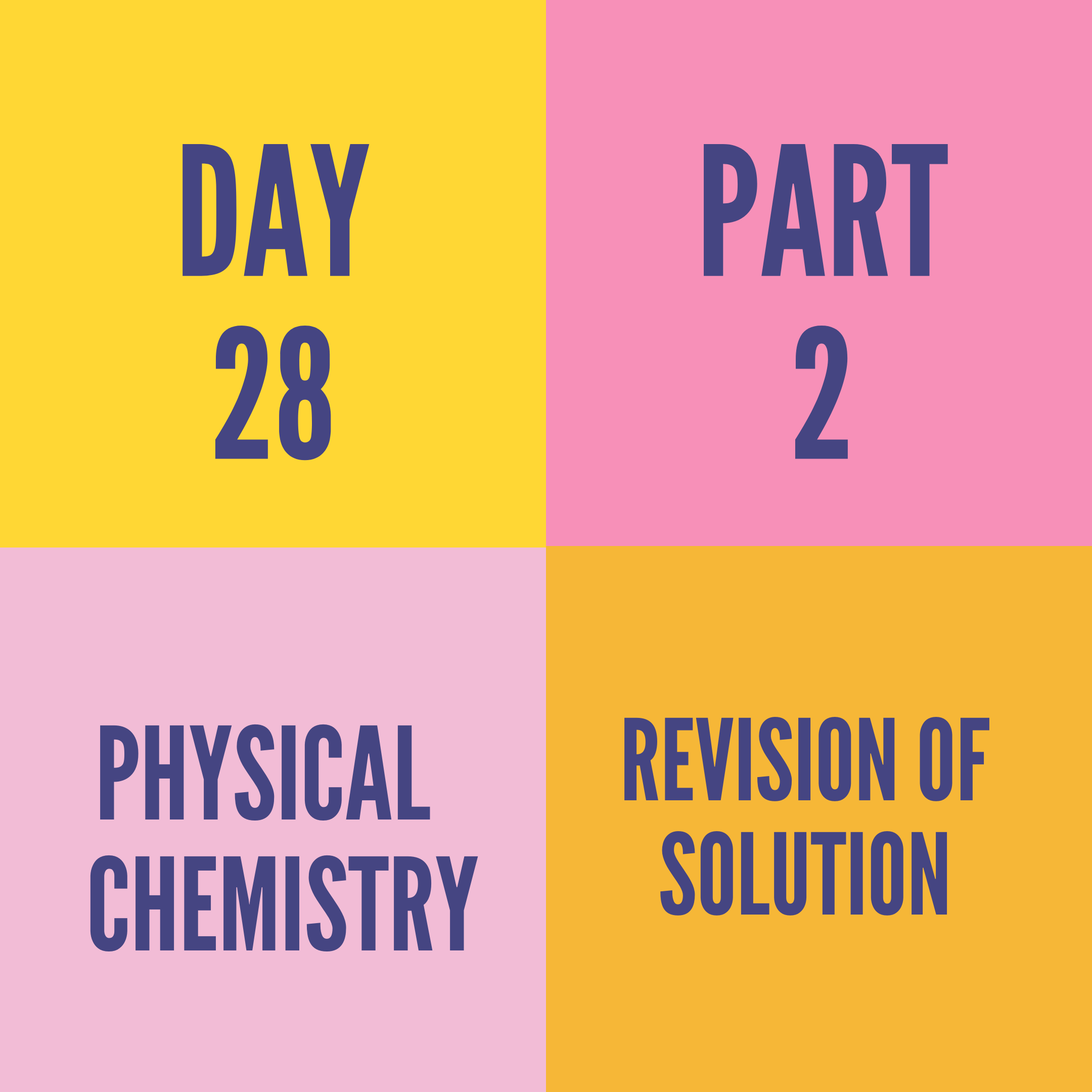 DAY-28 PART-2 REVISION OF SOLUTION