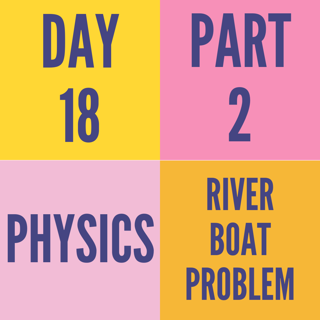 DAY-18 PART-2 RELATIVE MOTION IN ONE-D