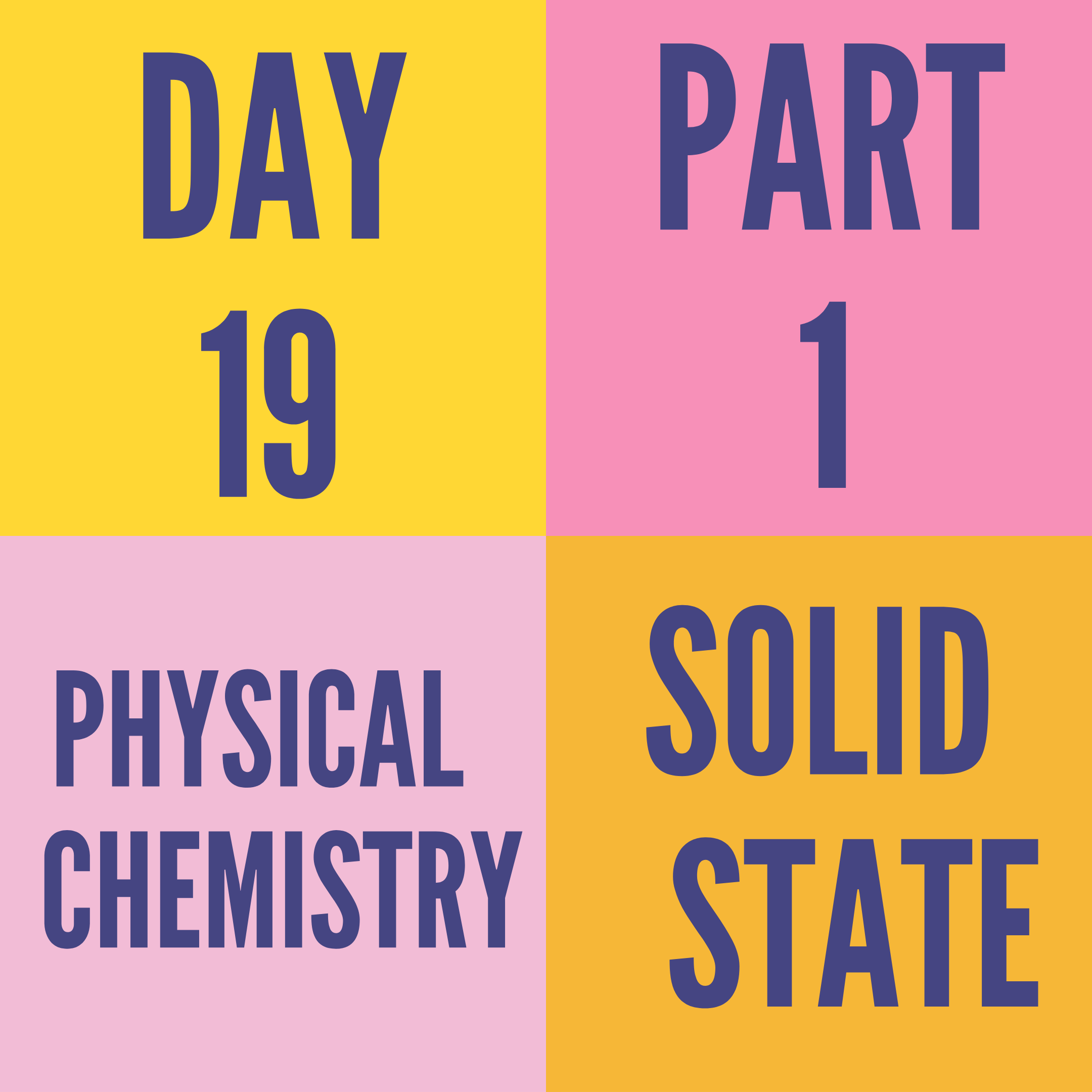 DAY-19 PART-1 SOLID STATE