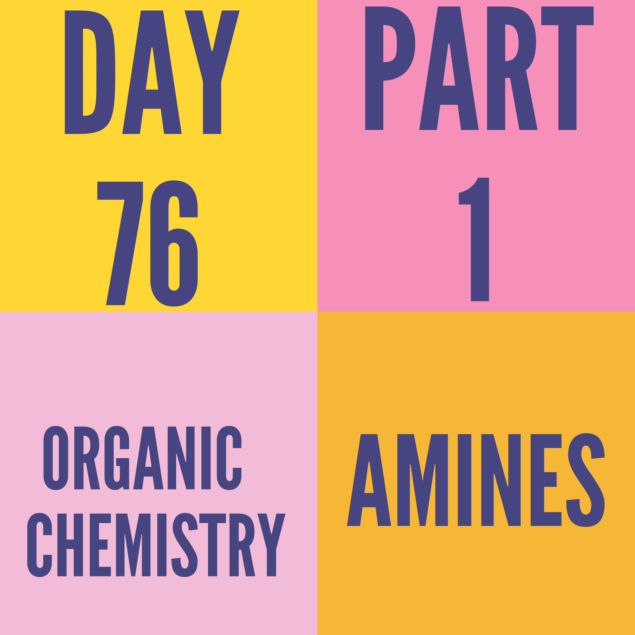 DAY-76 PART-1 AMINES