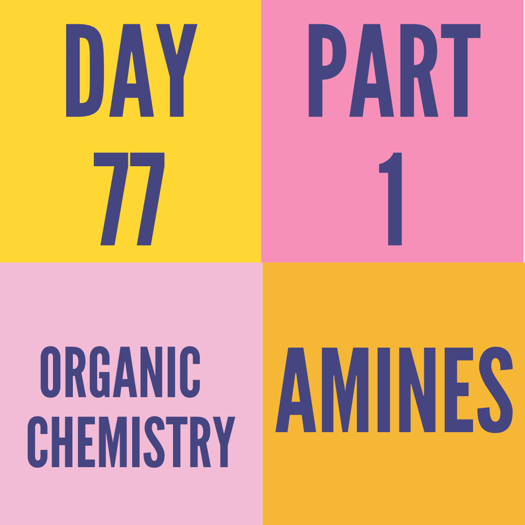 DAY-77 PART-1 AMINES