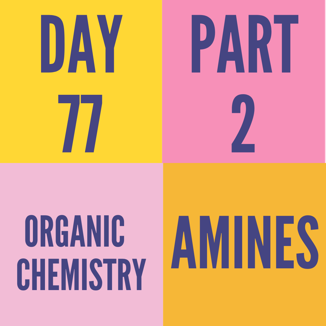 DAY-77 PART-2 AMINES