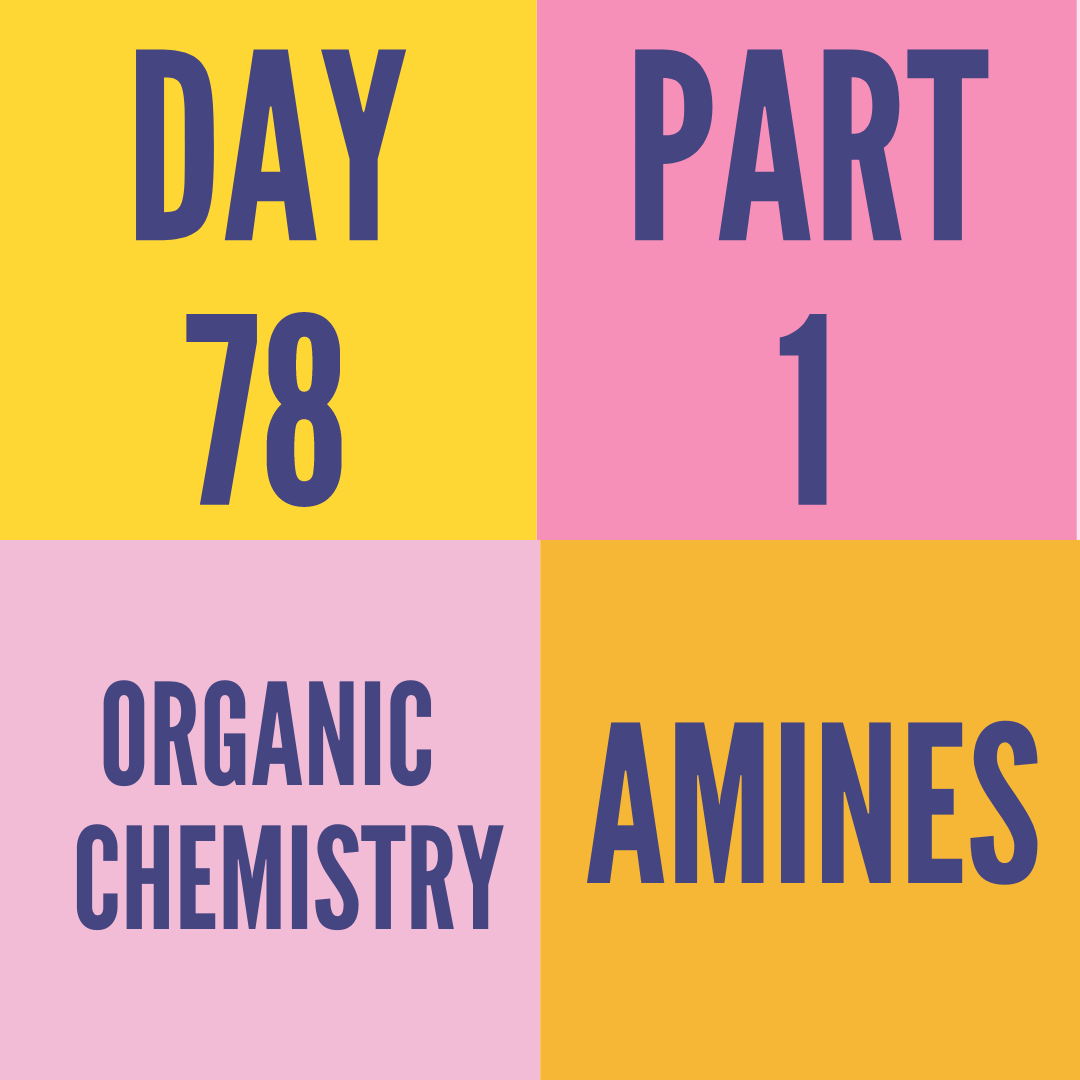 DAY-78 PART-1 AMINES