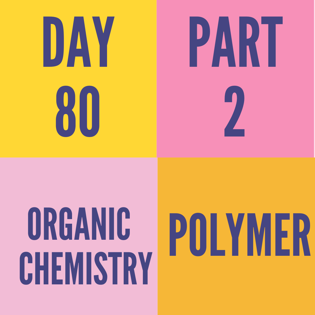 DAY-80 PART-2  POLYMER