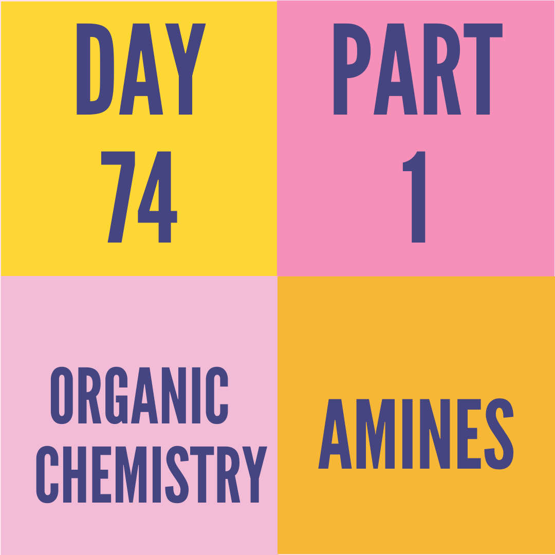 DAY-74 PART-1 AMINES