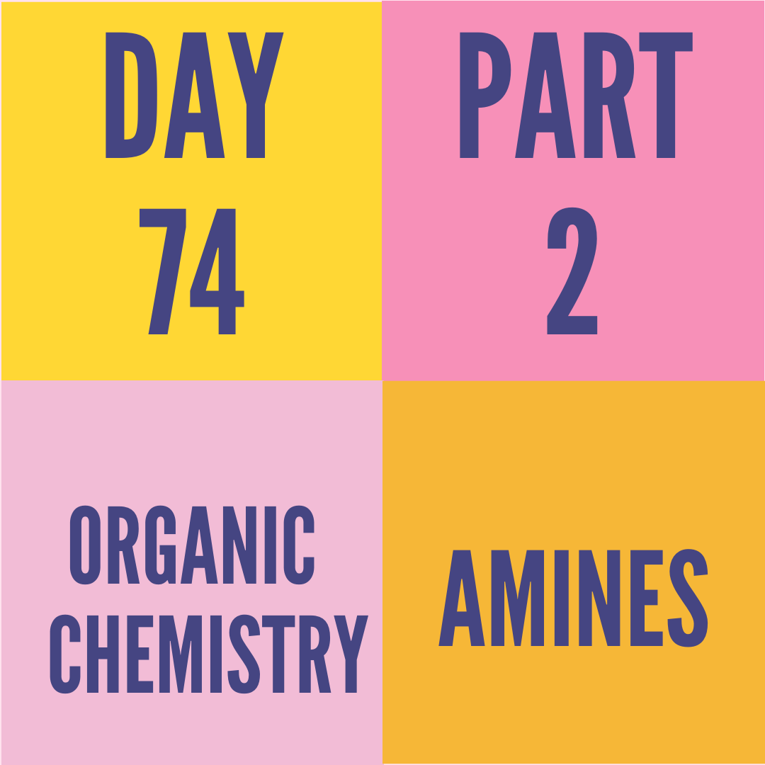 DAY-74 PART-2 AMINES