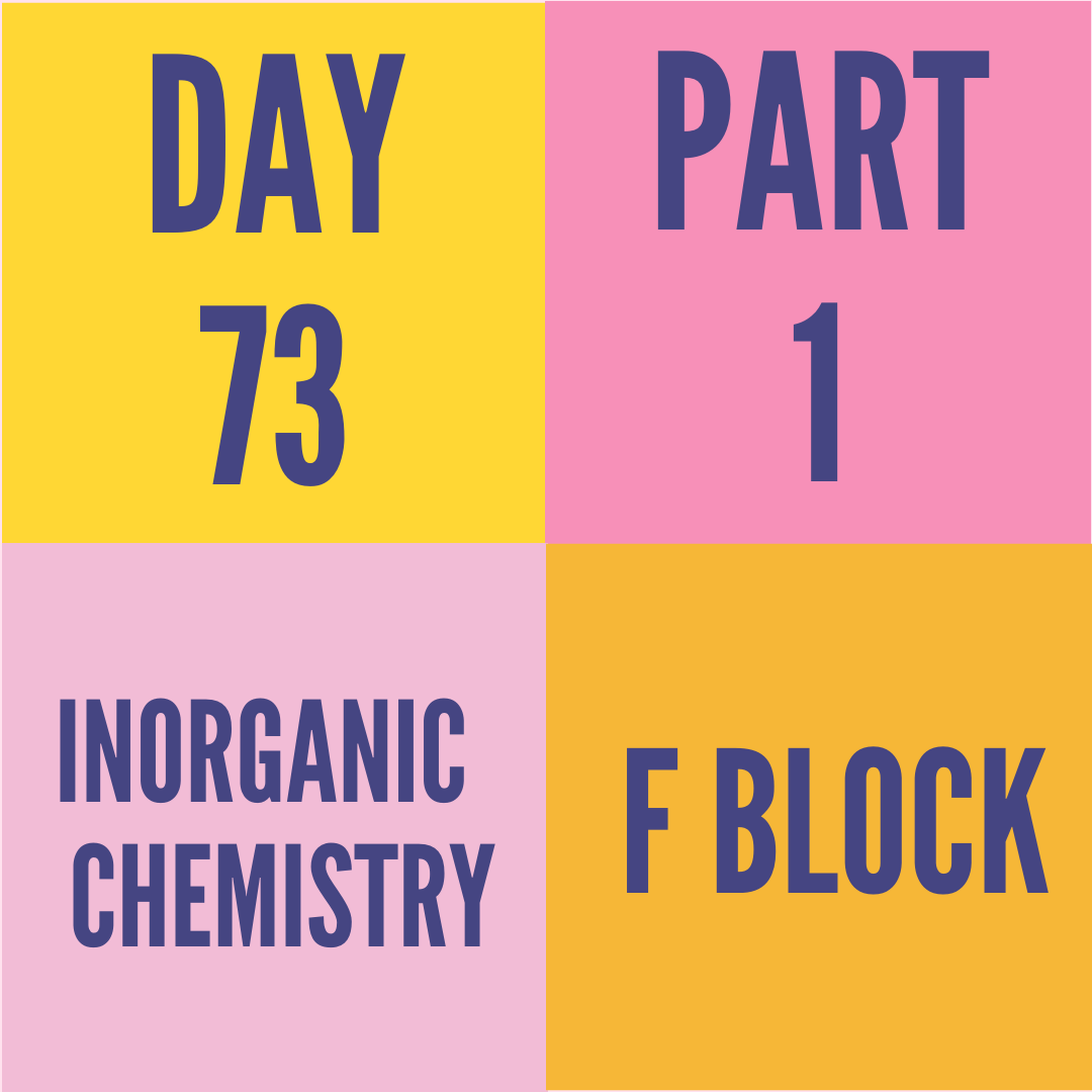 DAY-73 PART-1 F BLOCK